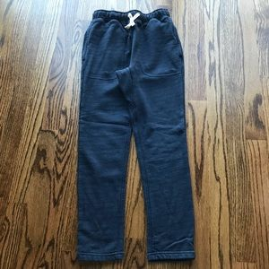 Mini Boden pull on denim sweatpants SZ 9Y. EUC!!!!